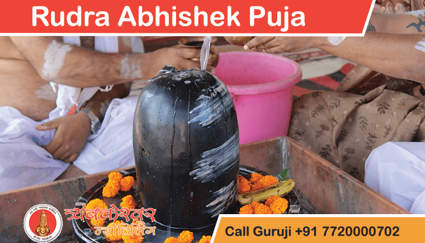 Rudra Abhishek Puja Trimbakeshwar Pandit Temple